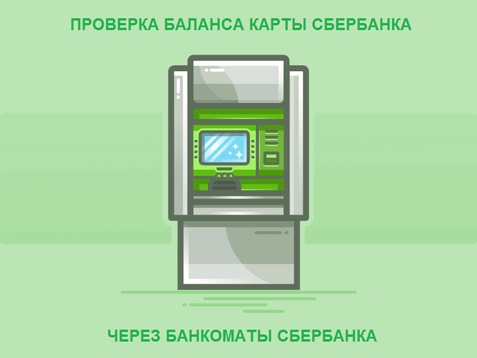 Проверить баланс на карте сбербанка через банкомат